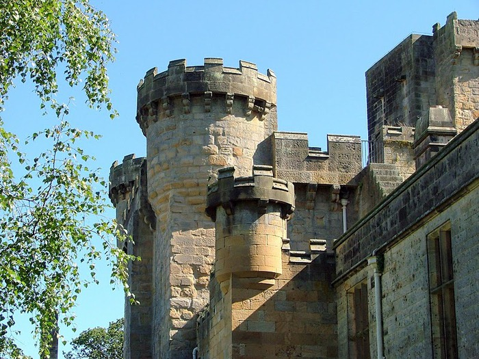 Замок Белси (Belsay Castle) 46473
