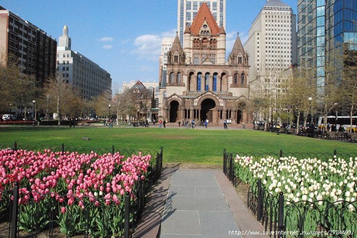 Весенний Бостон