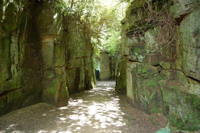 Замок Белси (Belsay Castle) 47911