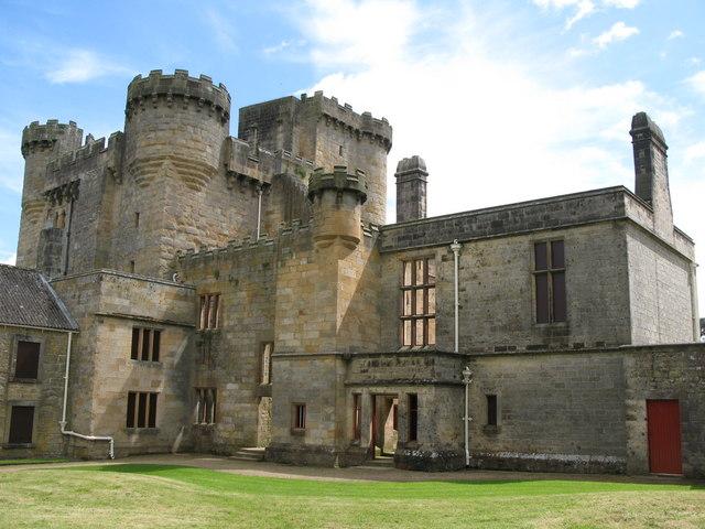 Замок Белси (Belsay Castle) 30139
