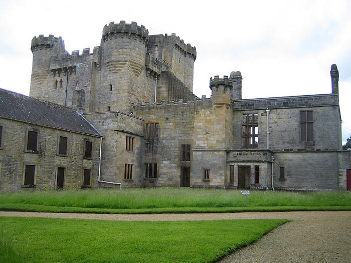 Замок Белси (Belsay Castle) 30528