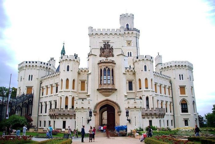 Замок Глубока над