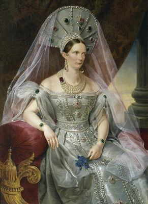 Императрица Александра Федоровна в кокошнике (291x400, 31 Kb)