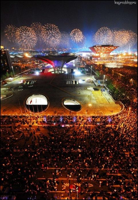1-го мая открылась всемирная выставка ЭКСПО-2010
