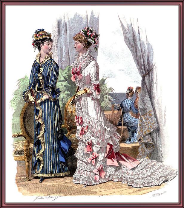 викторианская одежда