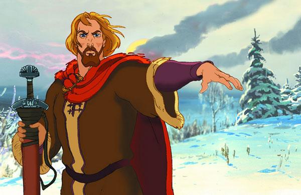 кадр из мультфильма князь владимир