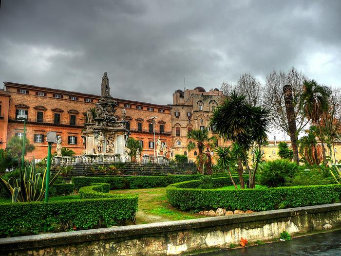 Палаццо Норманни или Палаццо Реале-Palazzo dei Normanni- Норманнский дворец 60557