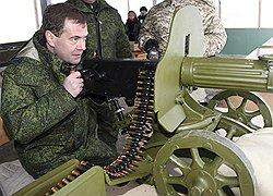 дмитрий медведев за пулеметом