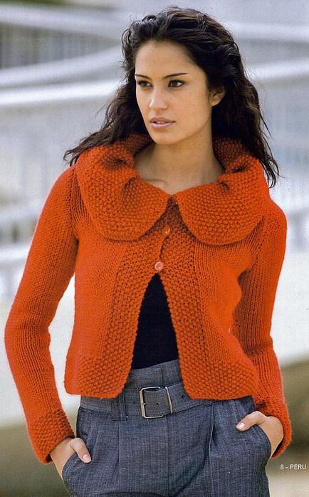 узоры вязания для свитера
