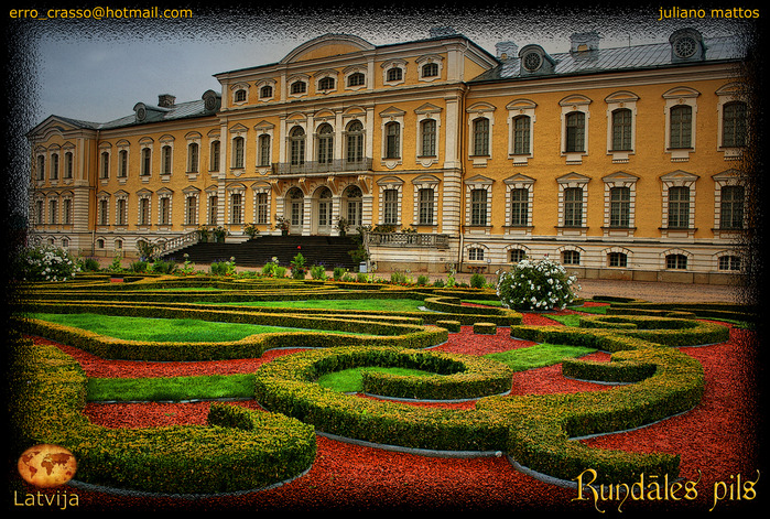 Rundales Castle - Рундальский дворец 11285