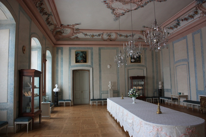Rundales Castle - Рундальский дворец 18661