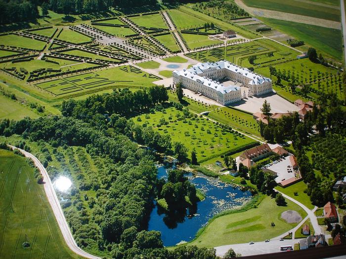 Rundales Castle - Рундальский дворец 54870
