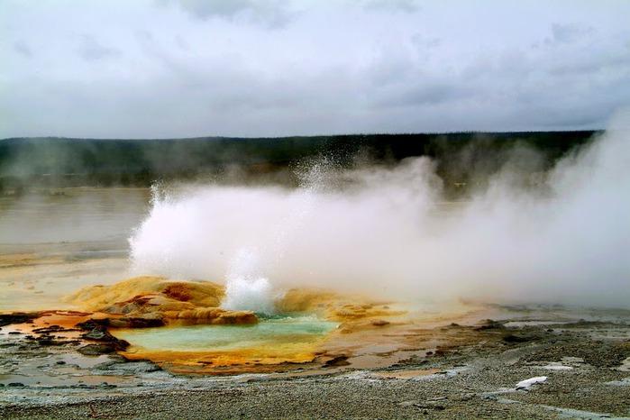 Национальный Парк Йеллоустоуна (Yellowstone National Park) 60557