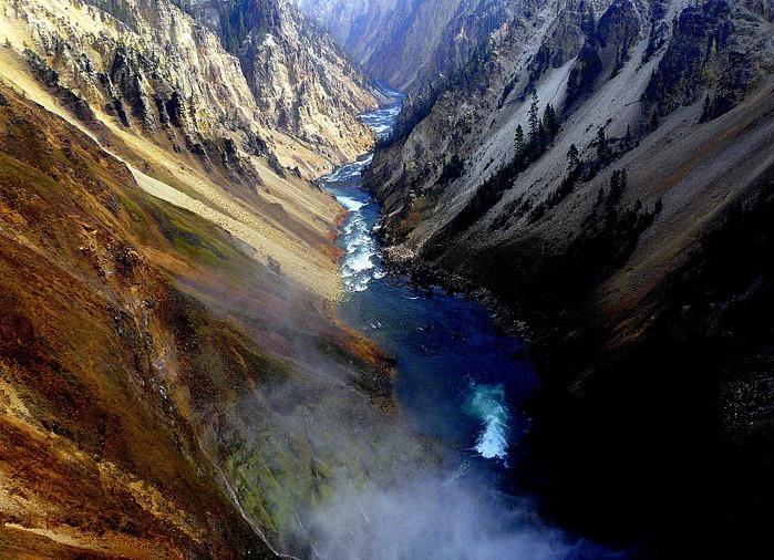 Национальный Парк Йеллоустоуна (Yellowstone National Park) 44826