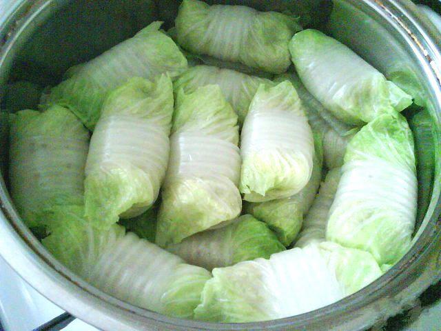 голубцы из пекинской капусты в духовке рецепт с фото пошагово
