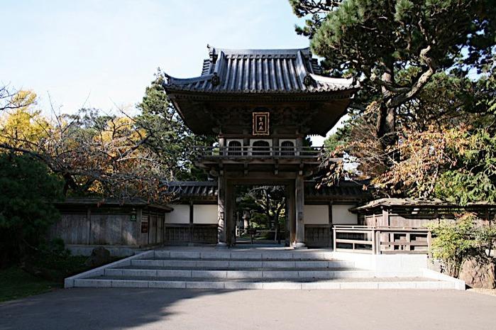 Японский чайный сад -(Hakone Japanese Tea Garden) 67615