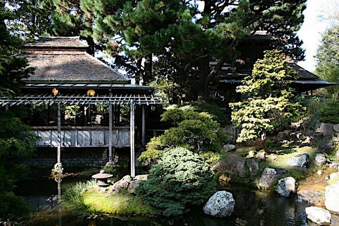 Японский чайный сад -(Hakone Japanese Tea Garden) 54725