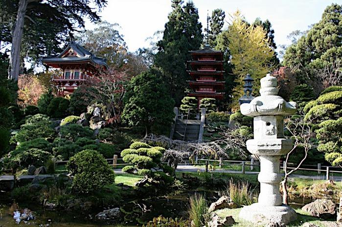 Японский чайный сад -(Hakone Japanese Tea Garden) 68881
