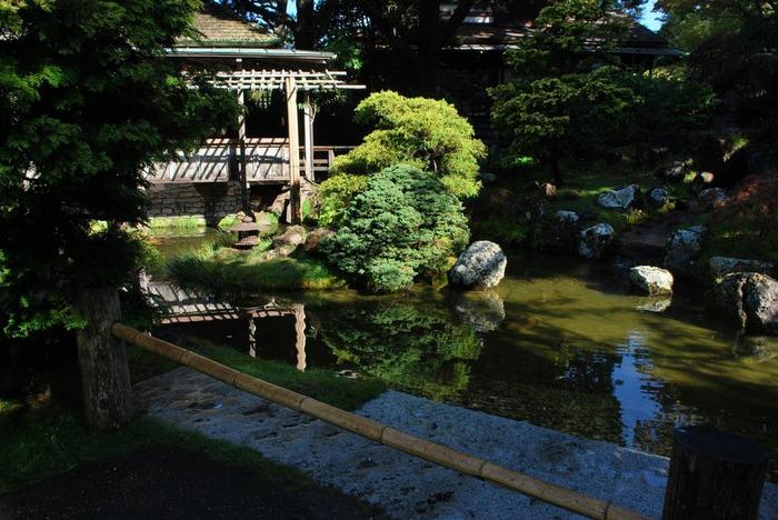 Японский чайный сад -(Hakone Japanese Tea Garden) 93689