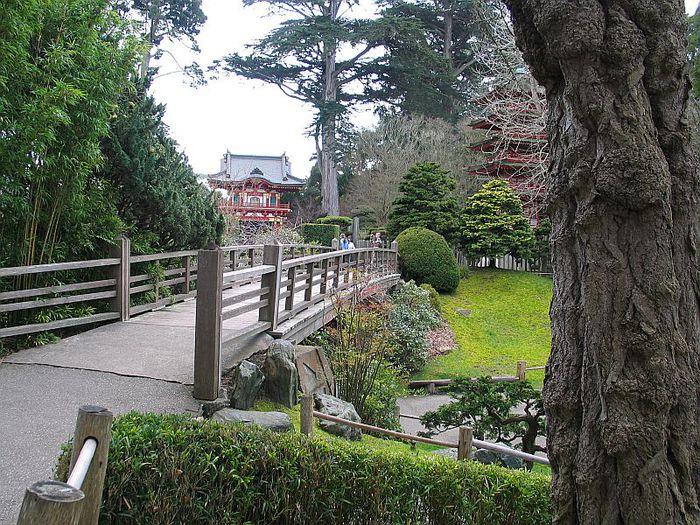 Японский чайный сад -(Hakone Japanese Tea Garden) 17286
