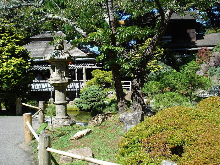 Японский чайный сад -(Hakone Japanese Tea Garden) 52379