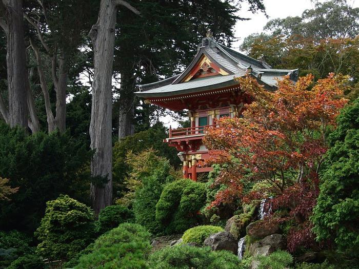 Японский чайный сад -(Hakone Japanese Tea Garden) 23696