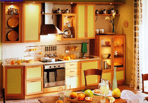 (587x409, 637Kb)Вариант кухни на заказ
