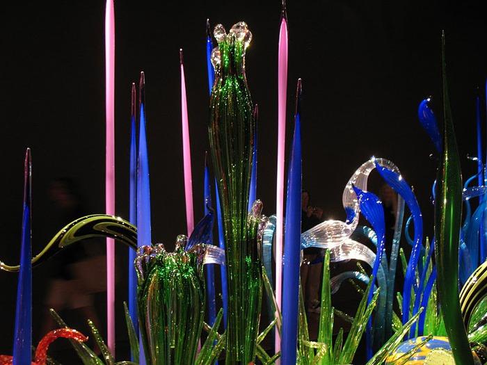 Музей изящных искусств (De Young Museum) -коллекция Dale Chihuly Glass Exhibit 39908