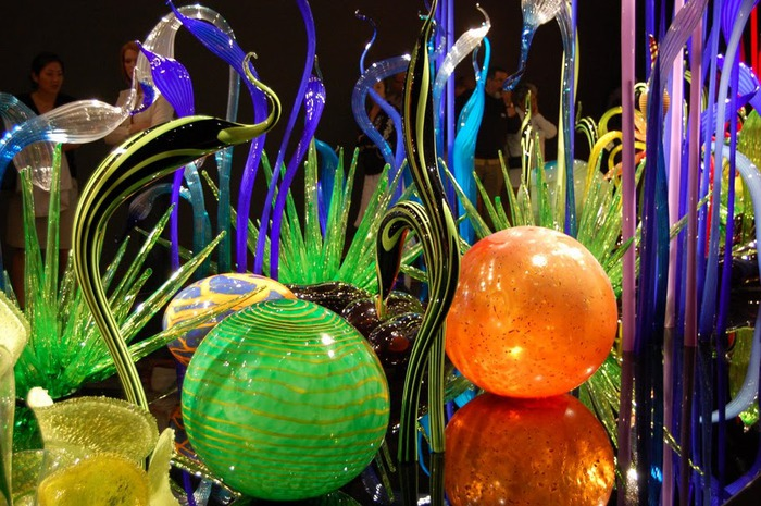 Музей изящных искусств (De Young Museum) -коллекция Dale Chihuly Glass Exhibit 35343