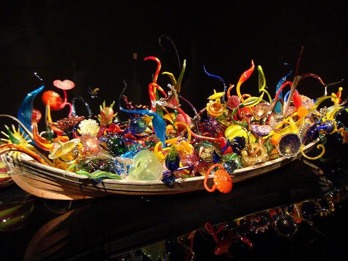 Музей изящных искусств (De Young Museum) -коллекция Dale Chihuly Glass Exhibit 27561