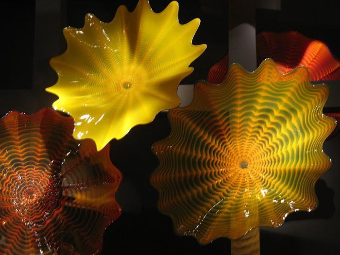 Музей изящных искусств (De Young Museum) -коллекция Dale Chihuly Glass Exhibit 56309