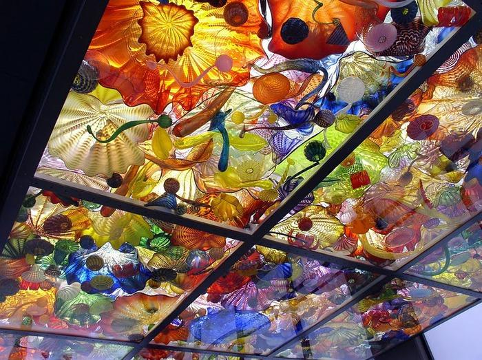 Музей изящных искусств (De Young Museum) -коллекция Dale Chihuly Glass Exhibit 61960