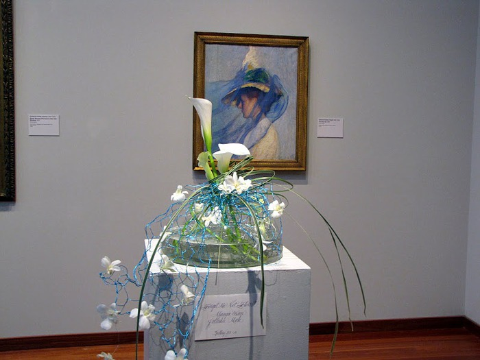 The 24th Annual Bouquet to Art (DeYoung museum, Сан Франциско) 32410