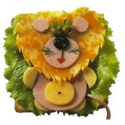 бутерброд львенок