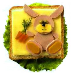 бутерброд заяц