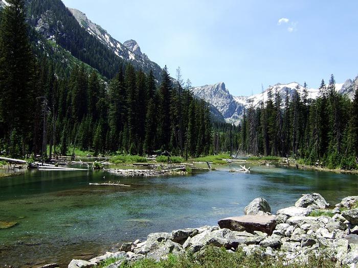 Национальный парк - Гранд Тетон 46636