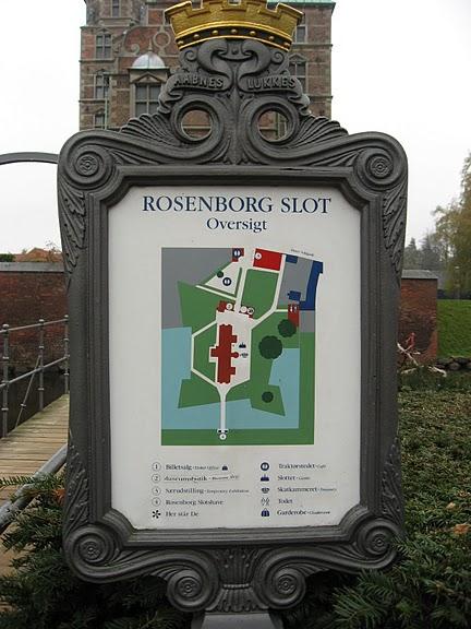ЗАМОК РОЗЕНБОРГ / ROSENBORG CASTLE 87250