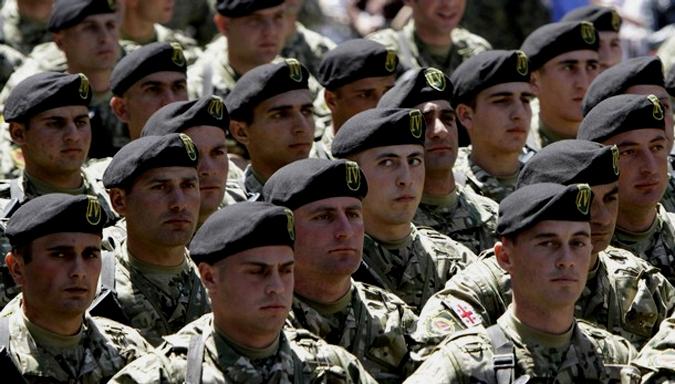 Грузия отмечает День независимости, Тбилиси, 26 мая 2010 года.
