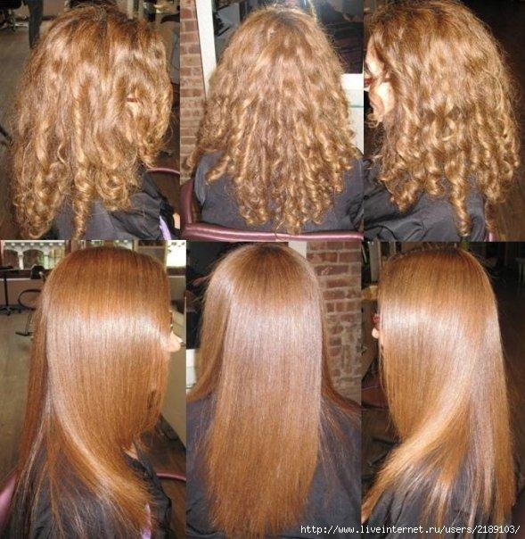 Инструкция кератиновое выпрямление волос