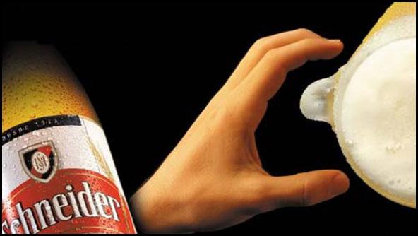 Провокационная реклама пива