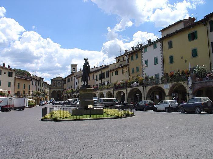 У низкого моря в Тоскане 56464