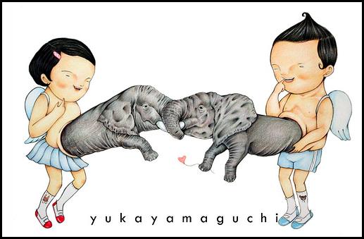 Мрачная красота от Yuka Yamaguchi
