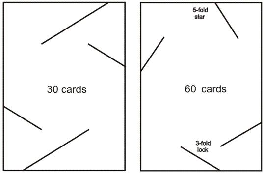 Шарик из карт