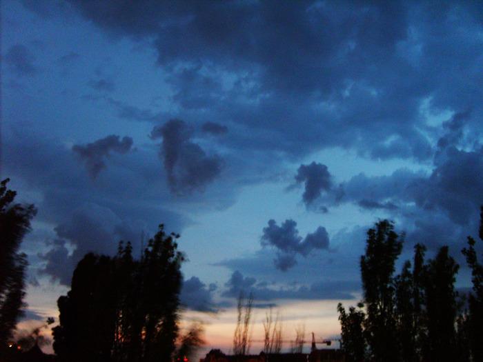 небо небо облака