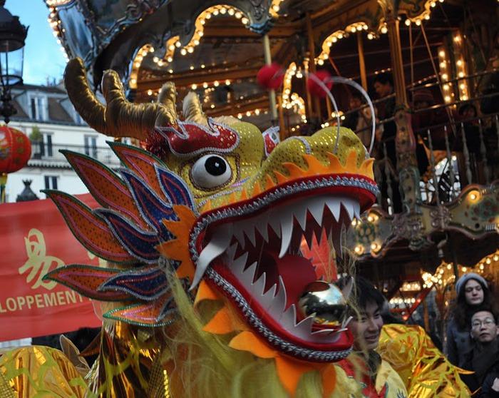 Китайский Новый год в Париже 50572