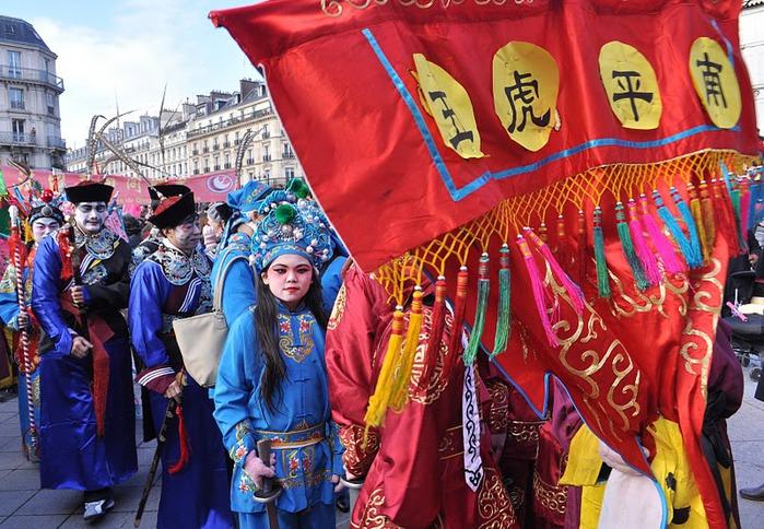 Китайский Новый год в Париже 99674