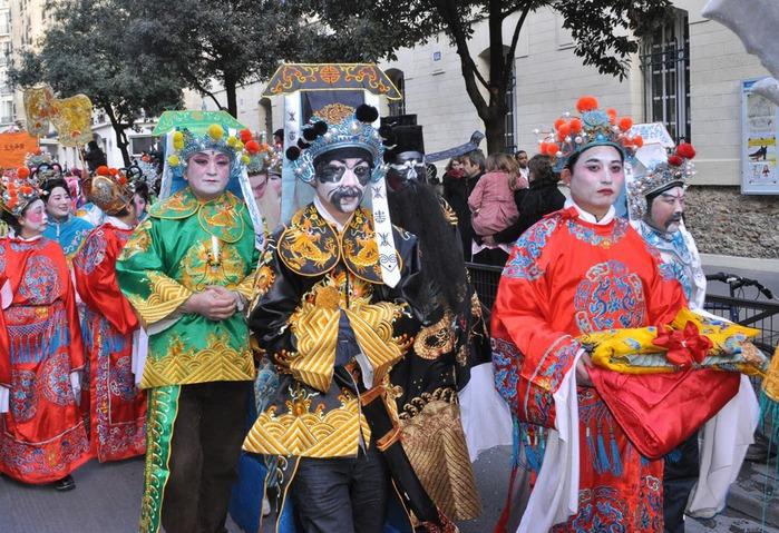 Китайский Новый год в Париже 30783