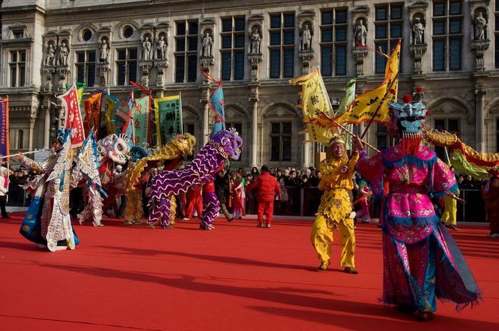 Китайский Новый год в Париже 93922