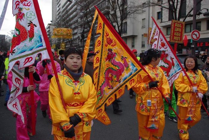 Китайский Новый год в Париже 70491