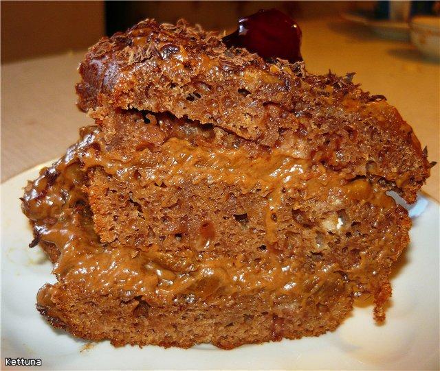 Рецепт торта Цыганка